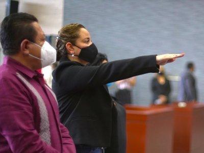 Rinde Protesta América Berenice Jiménez Molina como Titular de la Contraloría Estatal